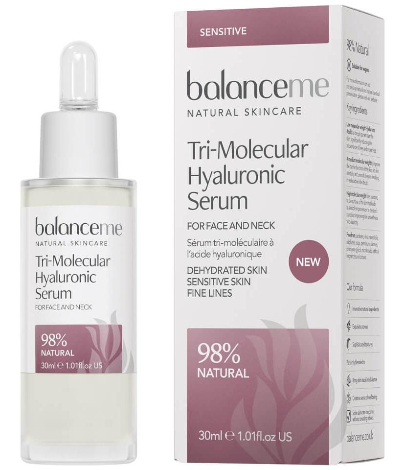 Balance Me Tri-Molecular Hyaluronic Serum