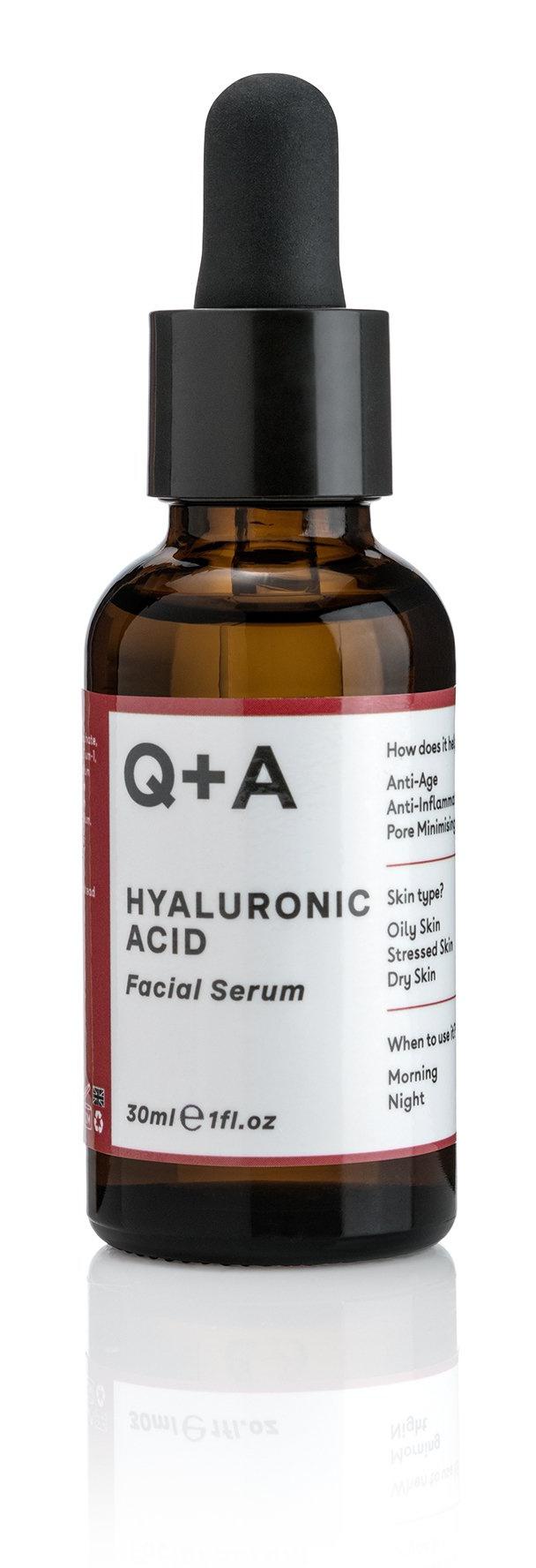 Q+A Hyaluronic Acid Facial Serum