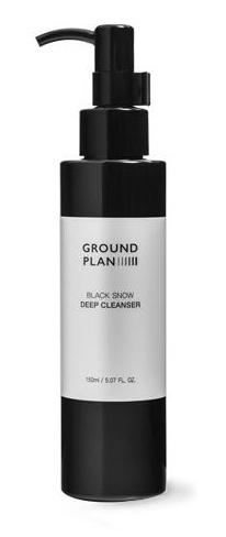 GROUND PLAN Black Snow Deep Cleanser