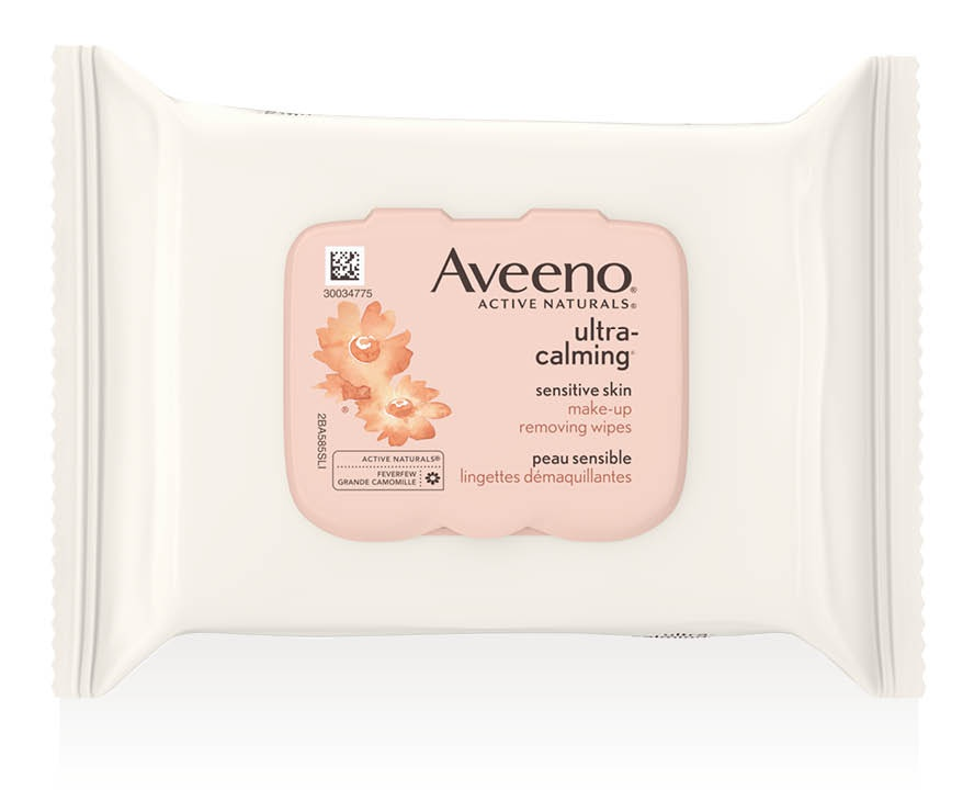Aveeno Ultra-Calming Make-Up Removing Wipes