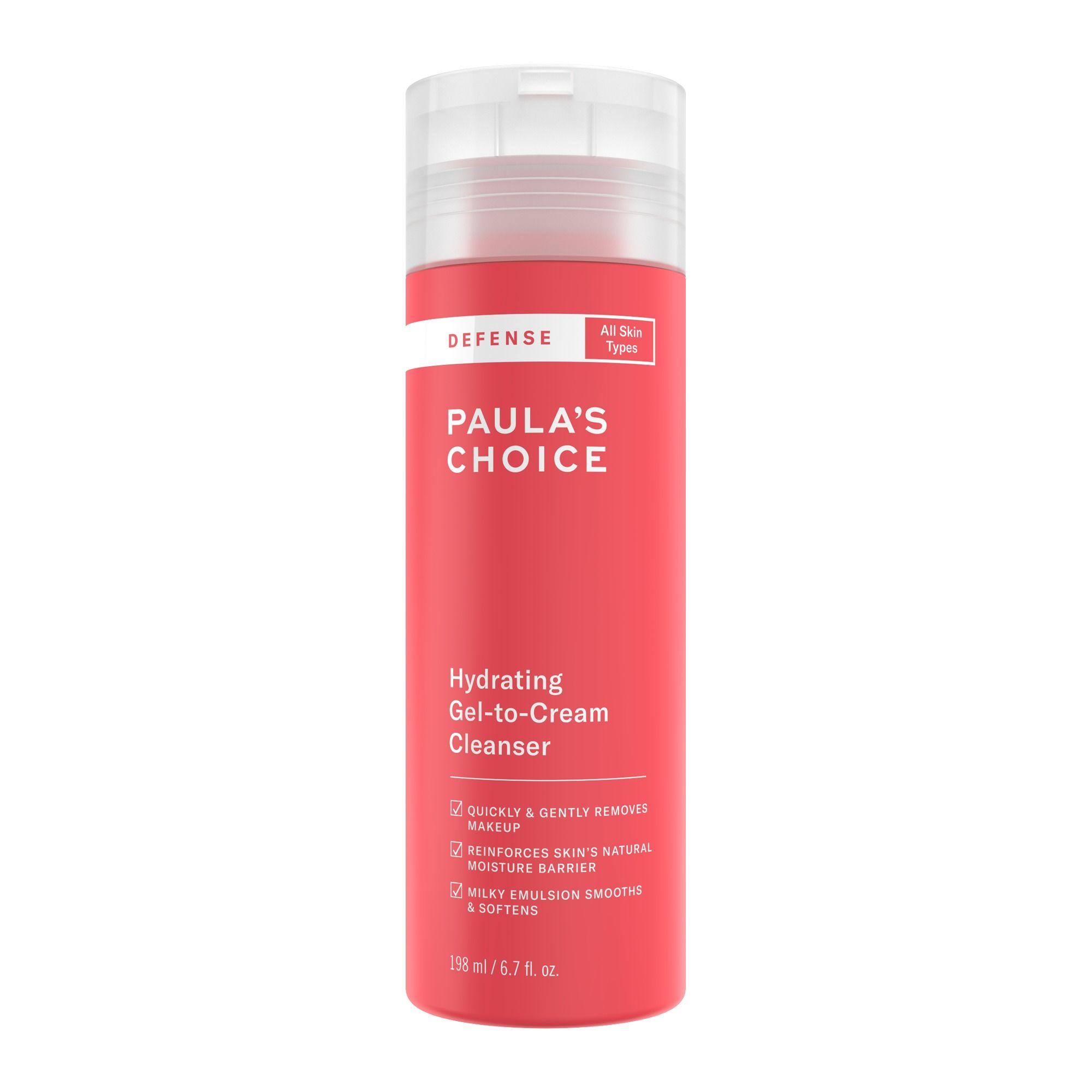 Paula's Choice Defense Hydrating Gel-To-Cream Cleanser