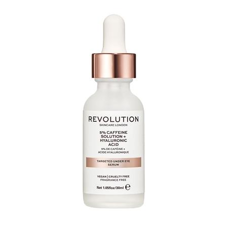 Revolution Skincare Targeted Under Eye Serum - 5% Caffeine Solution + Hyaluronic Acid Serum