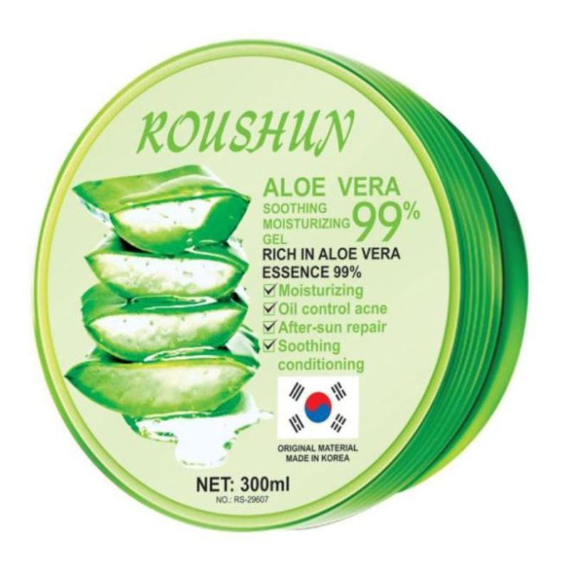 Roushun Aloe Vera Soothing Moisturizing Gel Clear