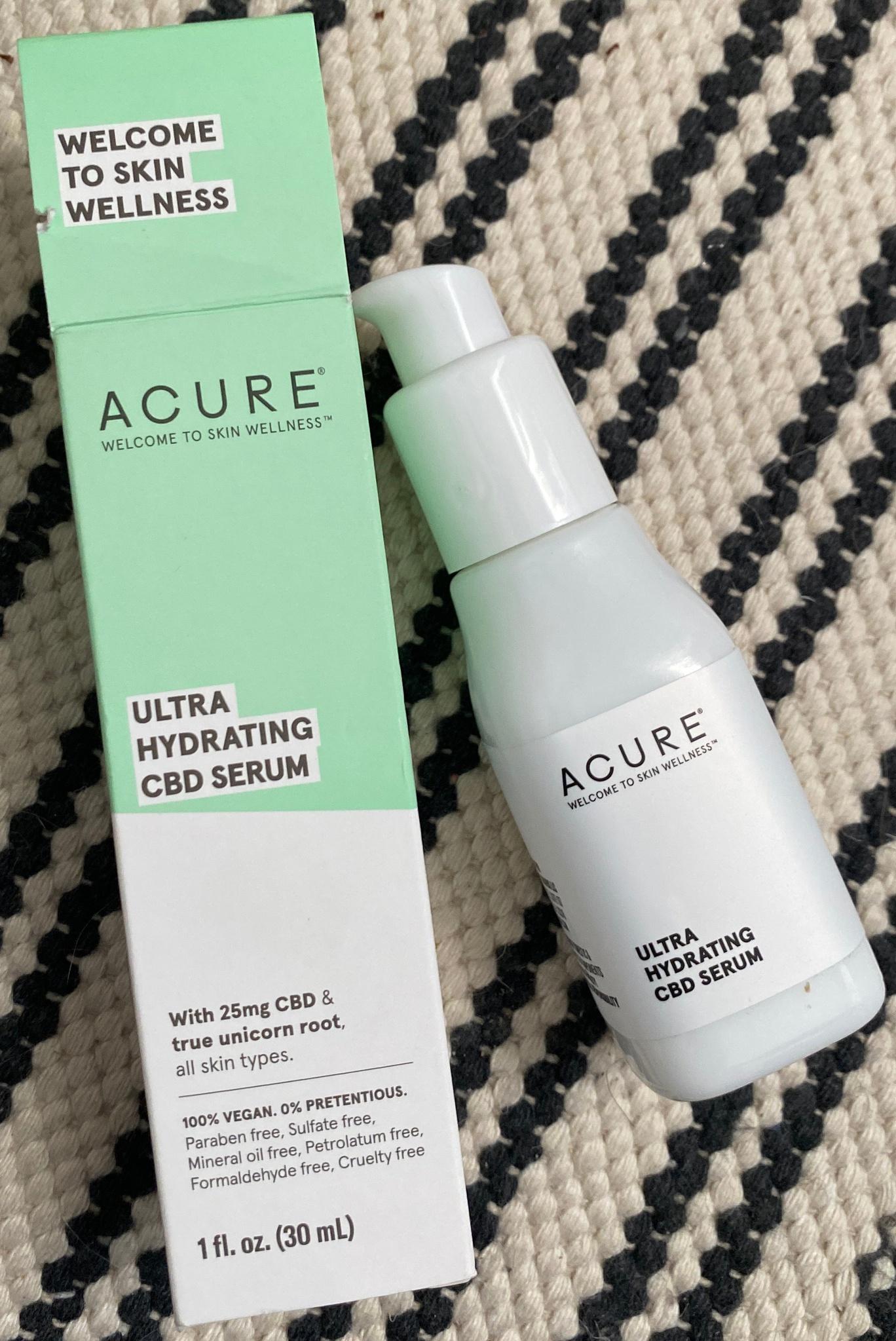 Acure Ultra Hydrating CBD Serum