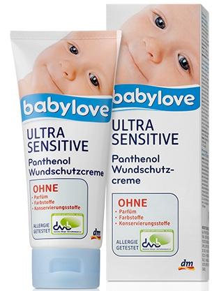 Babylove Ultra Sensitive Panthenol Wundshutzcreme