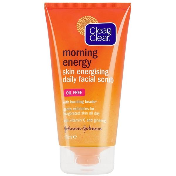 Clean & Clear Morning Energy Skin Energising Daily Facial Scrub