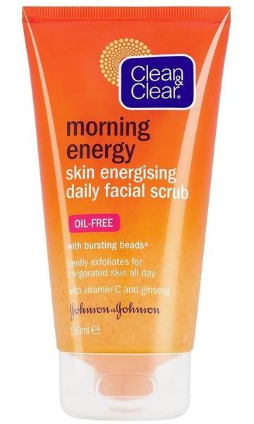 Clean & Clear Morning Energy Skin Energising Daily Facial Scrub