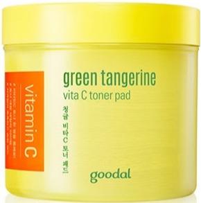 Goodal Green Tangerine Vita C Toner Pad