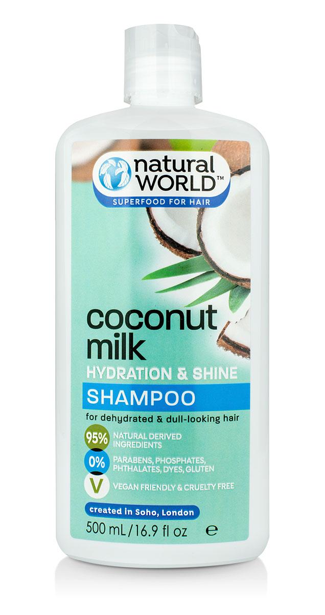 Natural world Hydration & Shine Shampoo