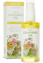 Badger Argan Face Cleansing Oil For All Skin Types