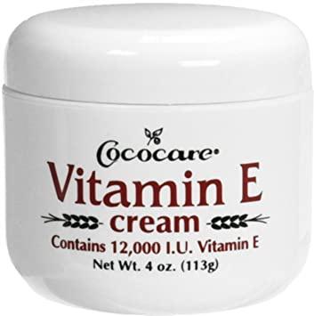Cococare Vitamin E Cream, 12,000 Iu