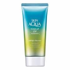 Rohto Skin Aqua Tone Up Uv Essence Mint Green
