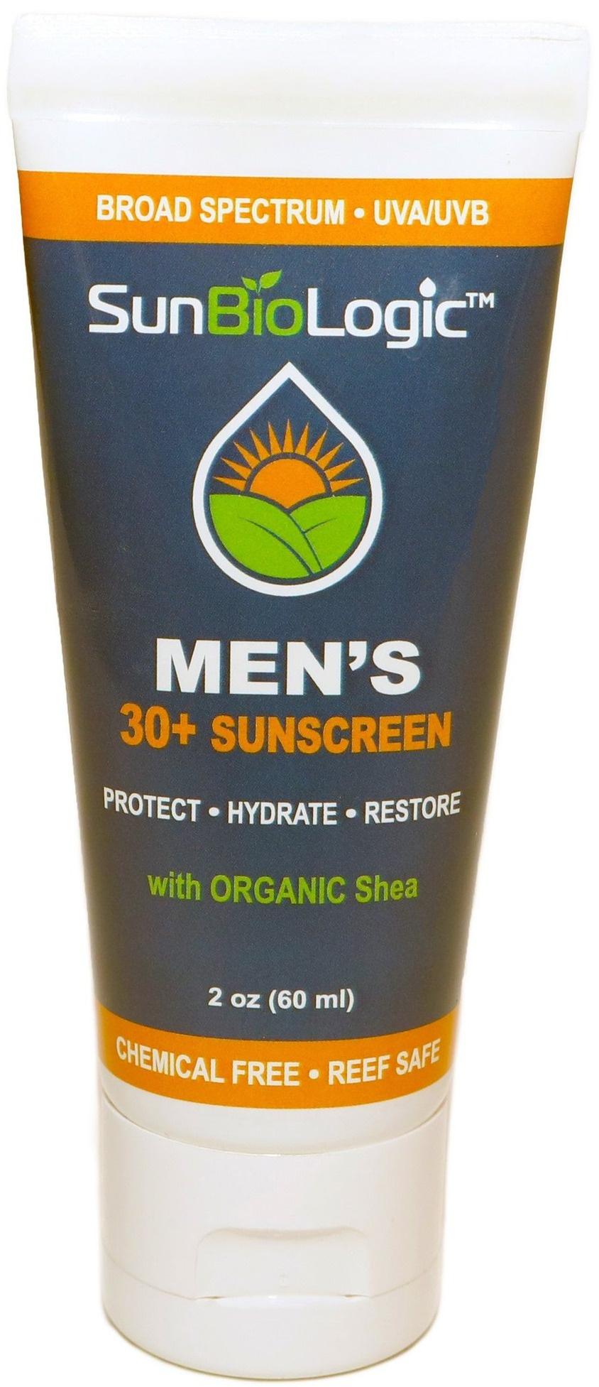 SunBioLogic Organic Sunscreen - Mens SPF 30+