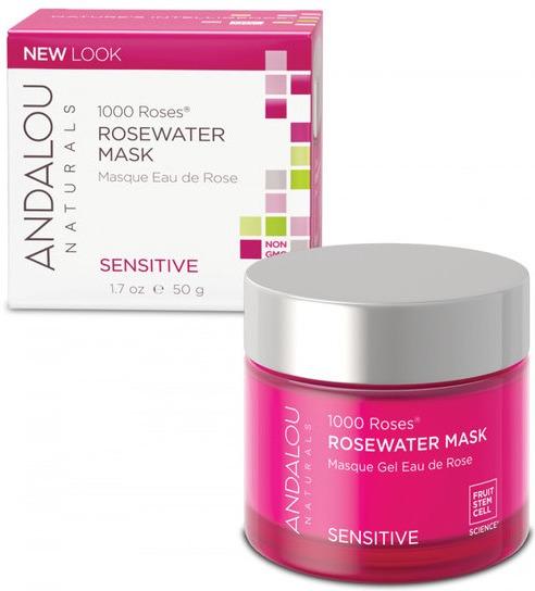 Andalou Sensitive 1000 Roses Rosewater Mask