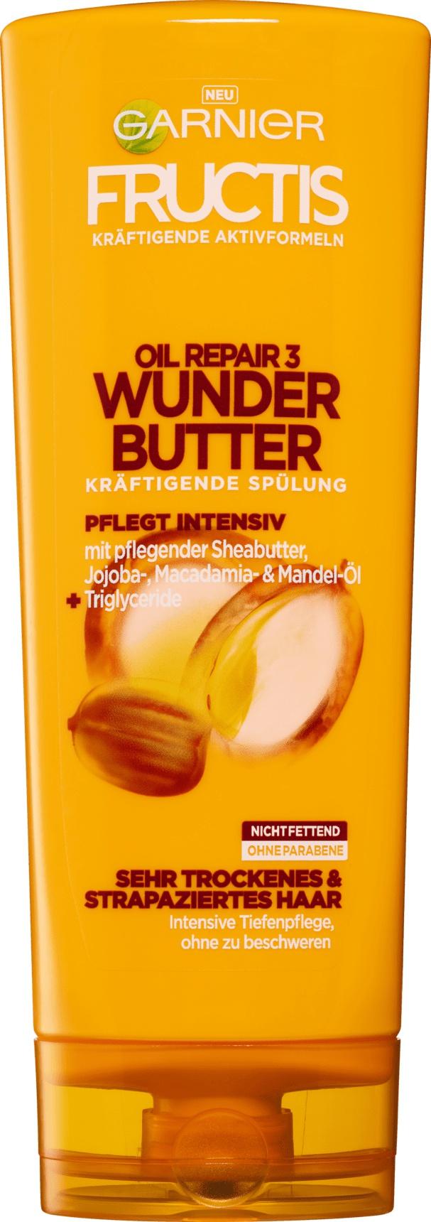 Garnier Fructis Spülung Oil Repair Wunderbutter