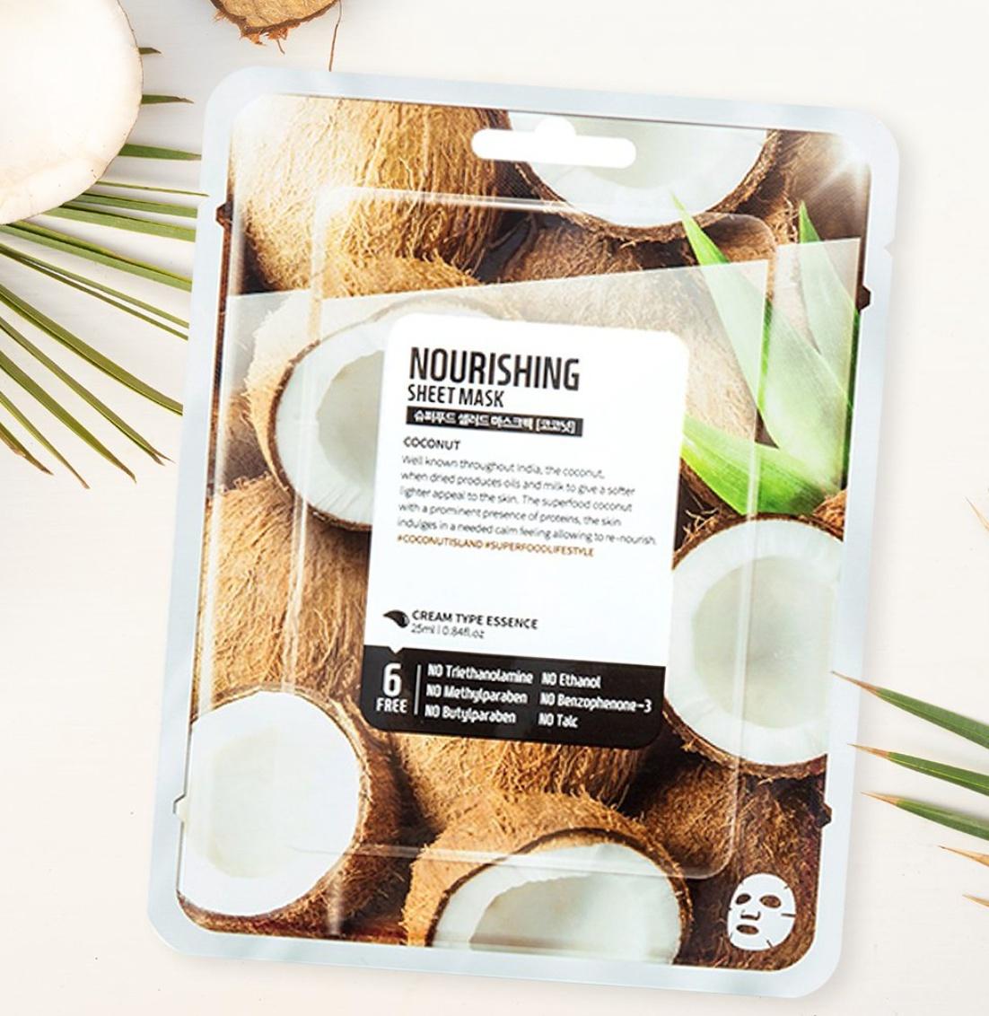 Farm Skin Superfood Nourishing Mask - Coconut