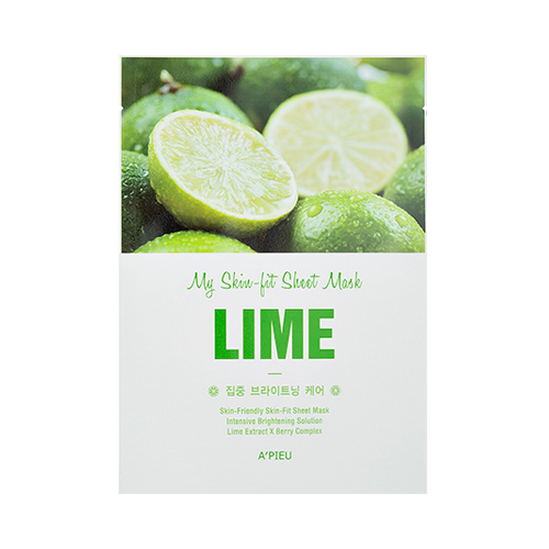 A'pieu My Skin-Fit Sheet Mask - Lime