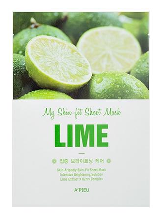 A'pieu My Skin-Fit Sheet Mask - Lime
