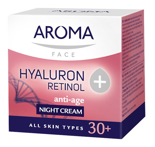 Aroma Hyaluron+Retinol Anti-Age Night Cream