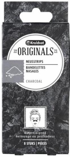 Kruidvat Originals Nose pore strips Charcoal