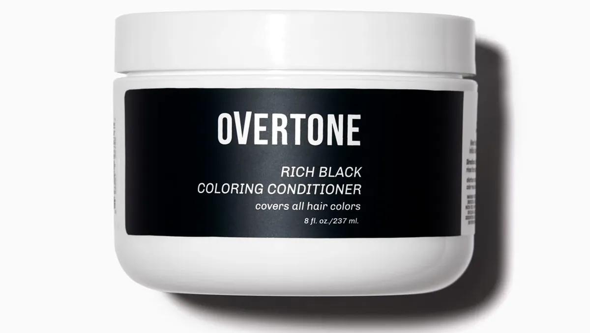 Overtone Rick Black Coloring Conditioner