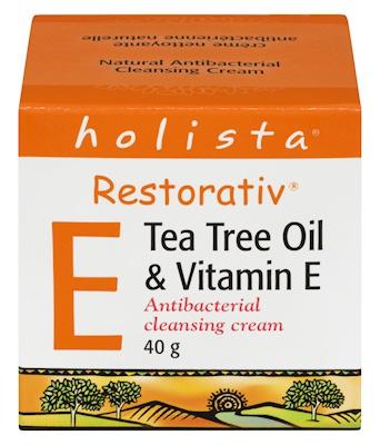 Holista Tea Tree Oil & Vitamin E Moisturizing Cream