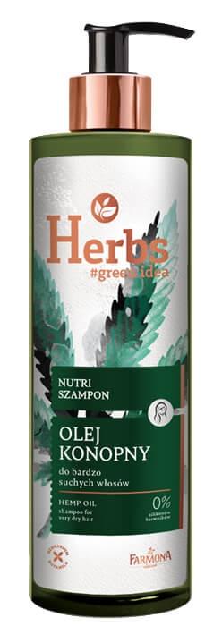 Farmona Herbal Care Nutri Szampon Olej Konopny