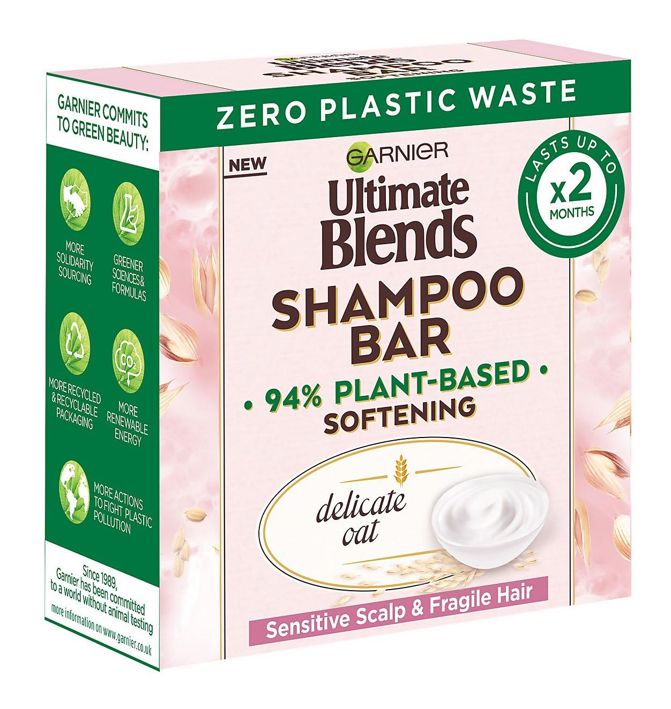 Garnier Ultimate Blends Sensitive Oat Shampoo Bar