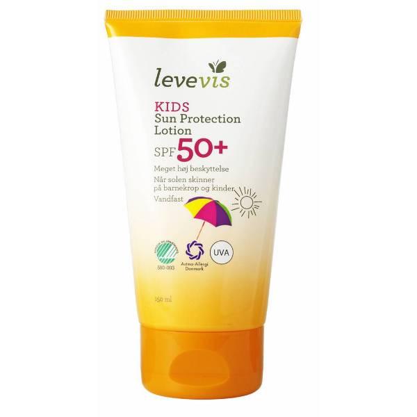 Levevis Kids Vandfast Sollotion Spf 50+