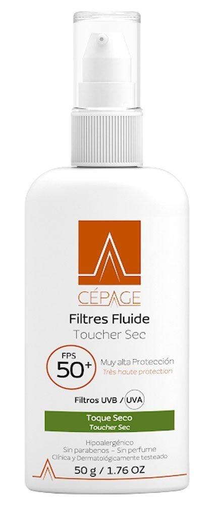 Cépage Filtres Fluide Toucher Sec 50+