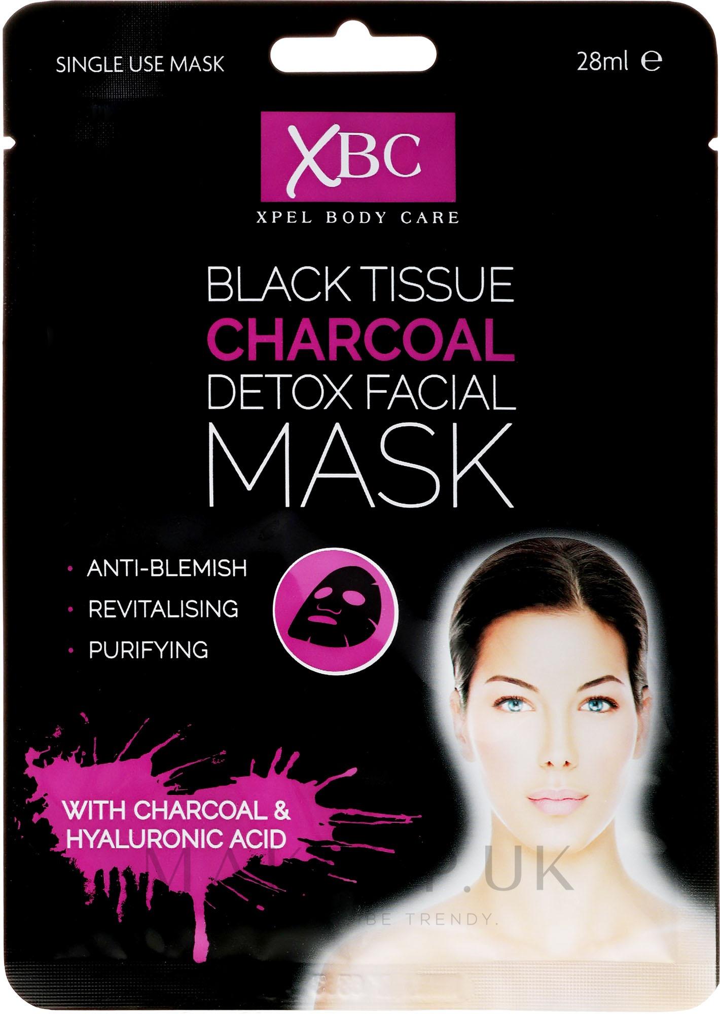 XPel body care Charcoal Detox Facial Mask