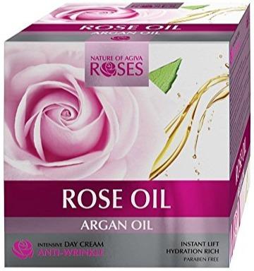 AGIVA Rose Oil+Argan Oil+Marine Collagen -Intensive Day Cream Anti-Wrinkle