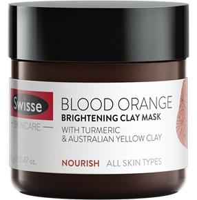 Swisse Blood Orange Brightening Clay Mask