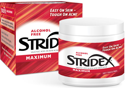 Stridex Maximum Strength Medicated Pads