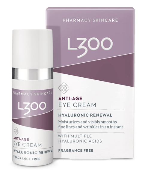 L300 Anti Age Eye Cream Hyaluronic Renewal