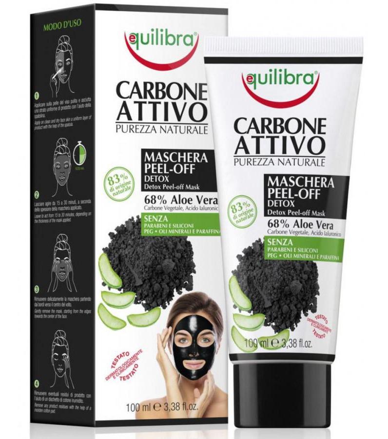 Equilibra Carbone Attivo Maschera Peel-off