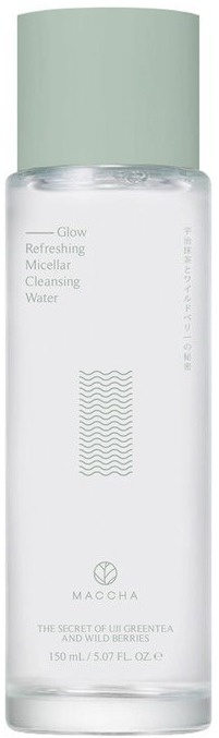 MACCHA Glow Refreshing Micellar Cleansing Water