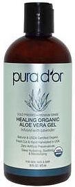 PURA D'OR Healing Organic Aloe Vera Gel
