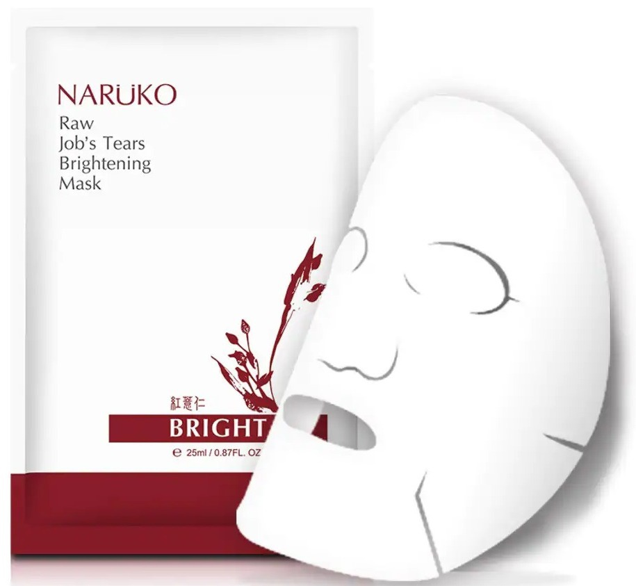 Naruko Raw Job's Tears Brightening Mask