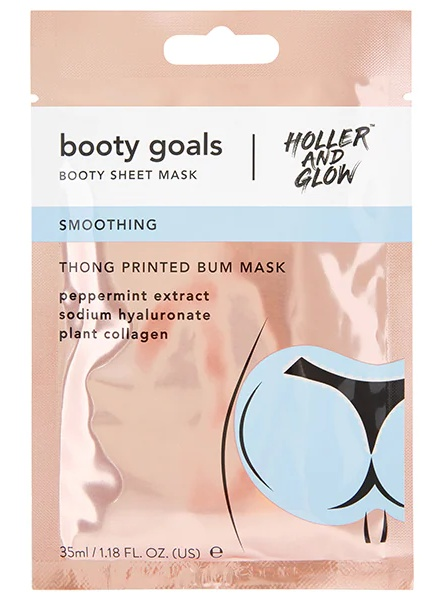Hollow and Glow Booty Mask