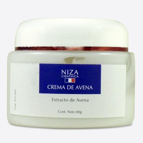 Niza cientifica Crema De Avena Para Pieles Sensibles