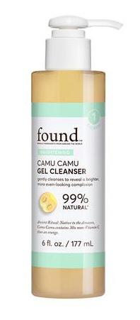 Found Brightening Camu Camu Gel Cleanser
