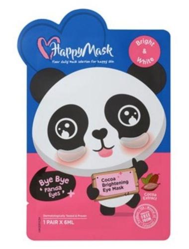 Happy Mask Bye Bye 'Panda Eyes' Cocoa Brightening Eye Mask