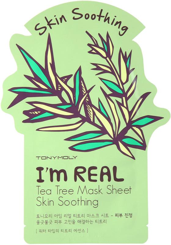 TonyMoly I'M Real Tea Tree Mask Sheet - Skin Soothing