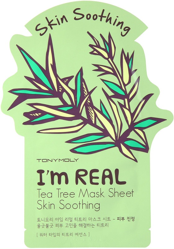 TonyMoly I'M Real Tea Tree Mask Sheet - Skin Soothing