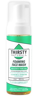 Thirsty Naturals Foaming Face Wash