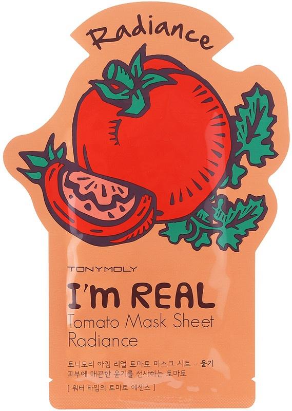 TonyMoly I'm Real Radiance Tomato Sheet Mask