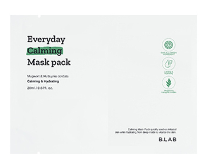 B-Lab Everyday Calming Mask Pack