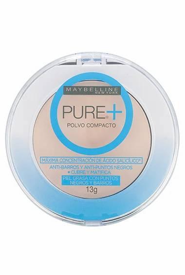 Maybelline Pure+ Polvo Compacto
