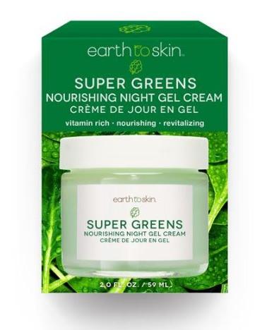 Earth To Skin Super Greens Nourshing Night Gel Cream